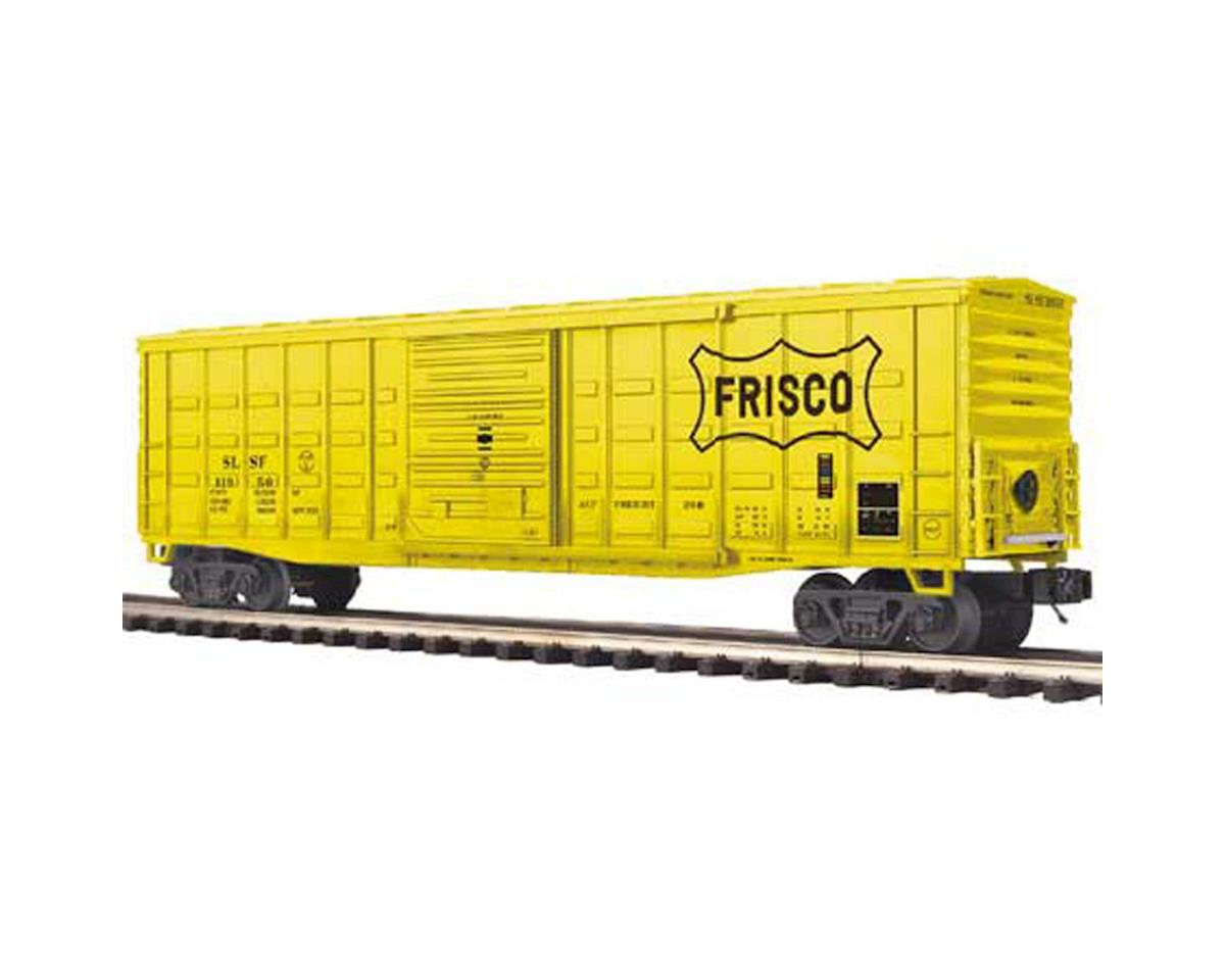 O 50' Waffle Box, Frisco by MTH Trains