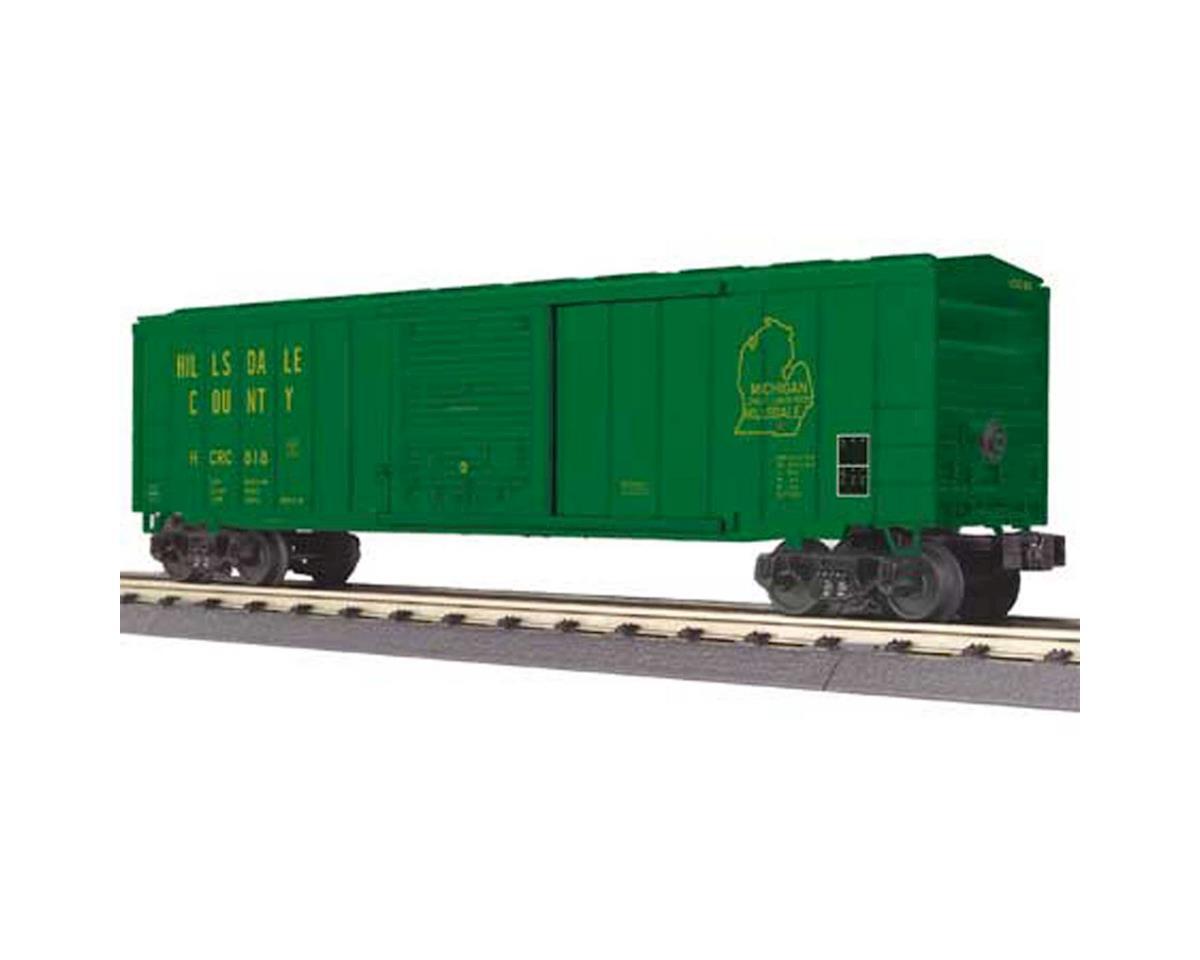 MTH Trains O 50' Box, Hillsdale County Railroad