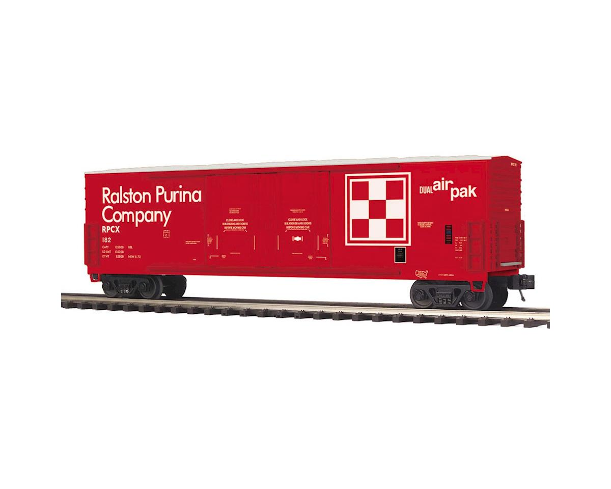 MTH Trains O 50' Double Door Plugged Box, Ralston