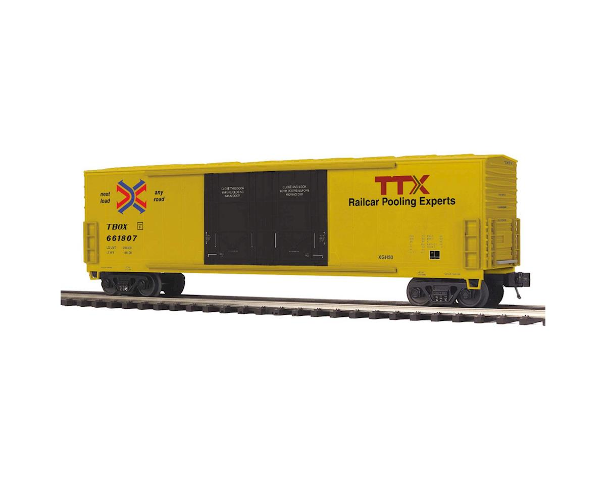 MTH Trains O 50' Double Door Plugged Box, TTX