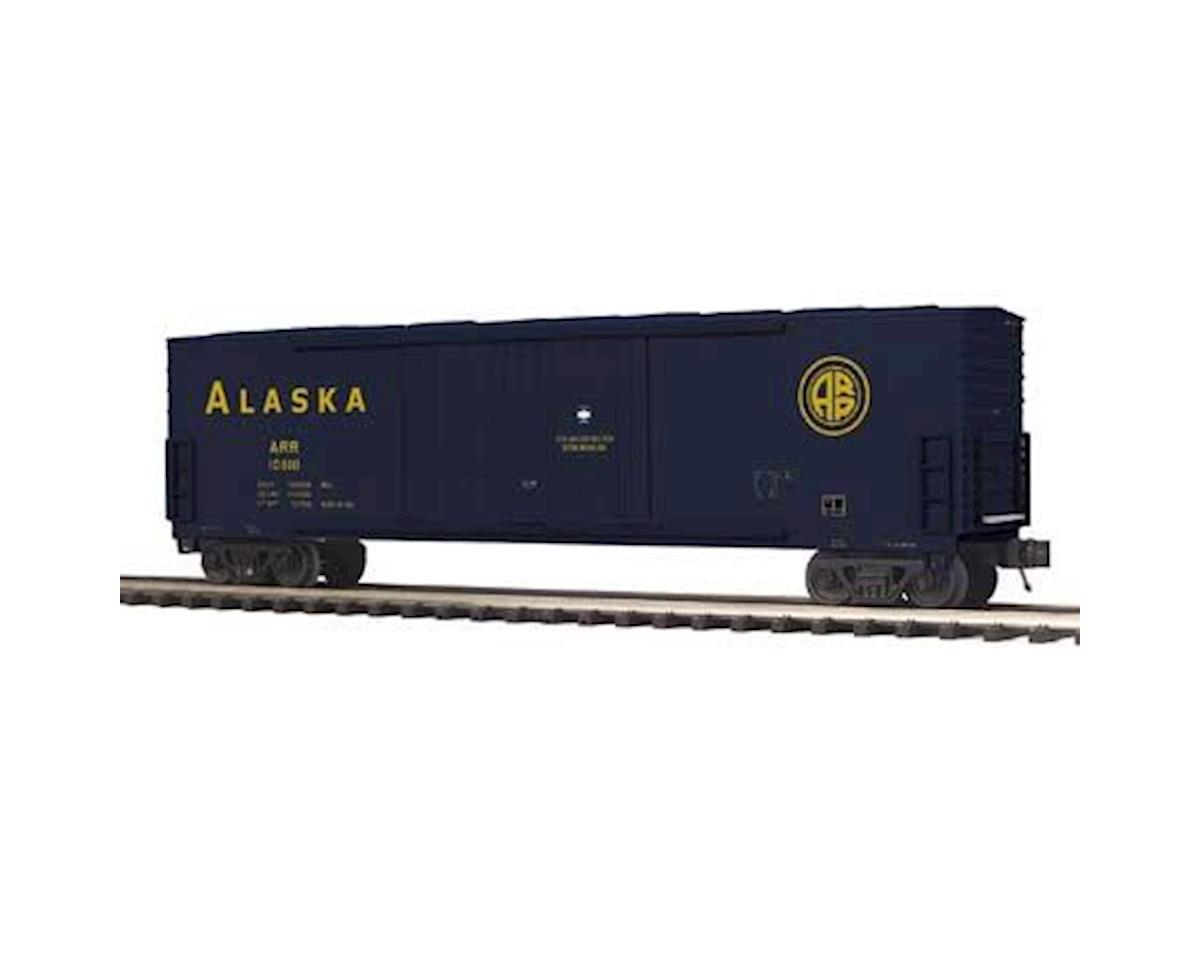 MTH Trains O 50' Double Door Plugged Box, ARR