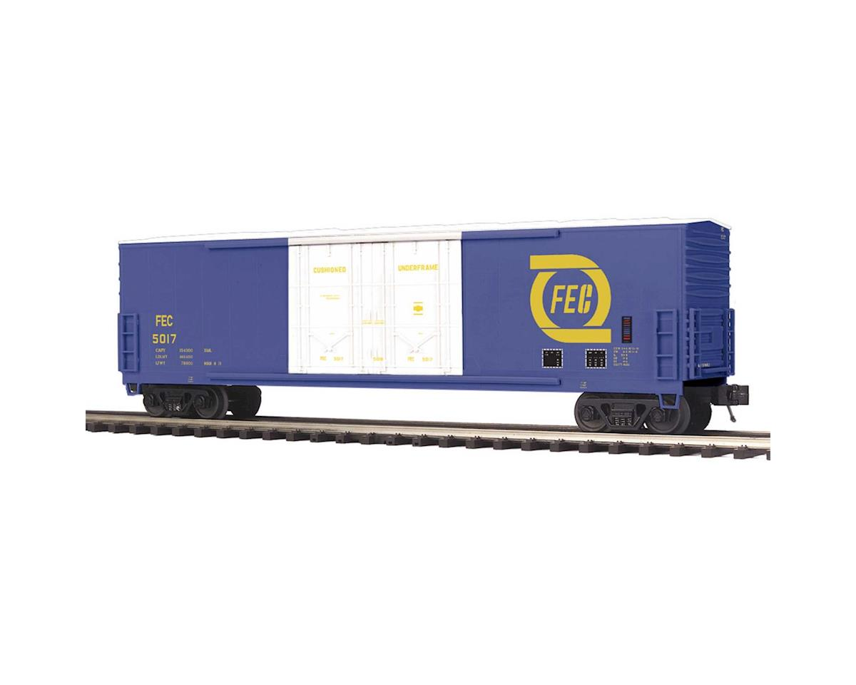 MTH Trains O 50' Double Door Plug Box, FEC #5017