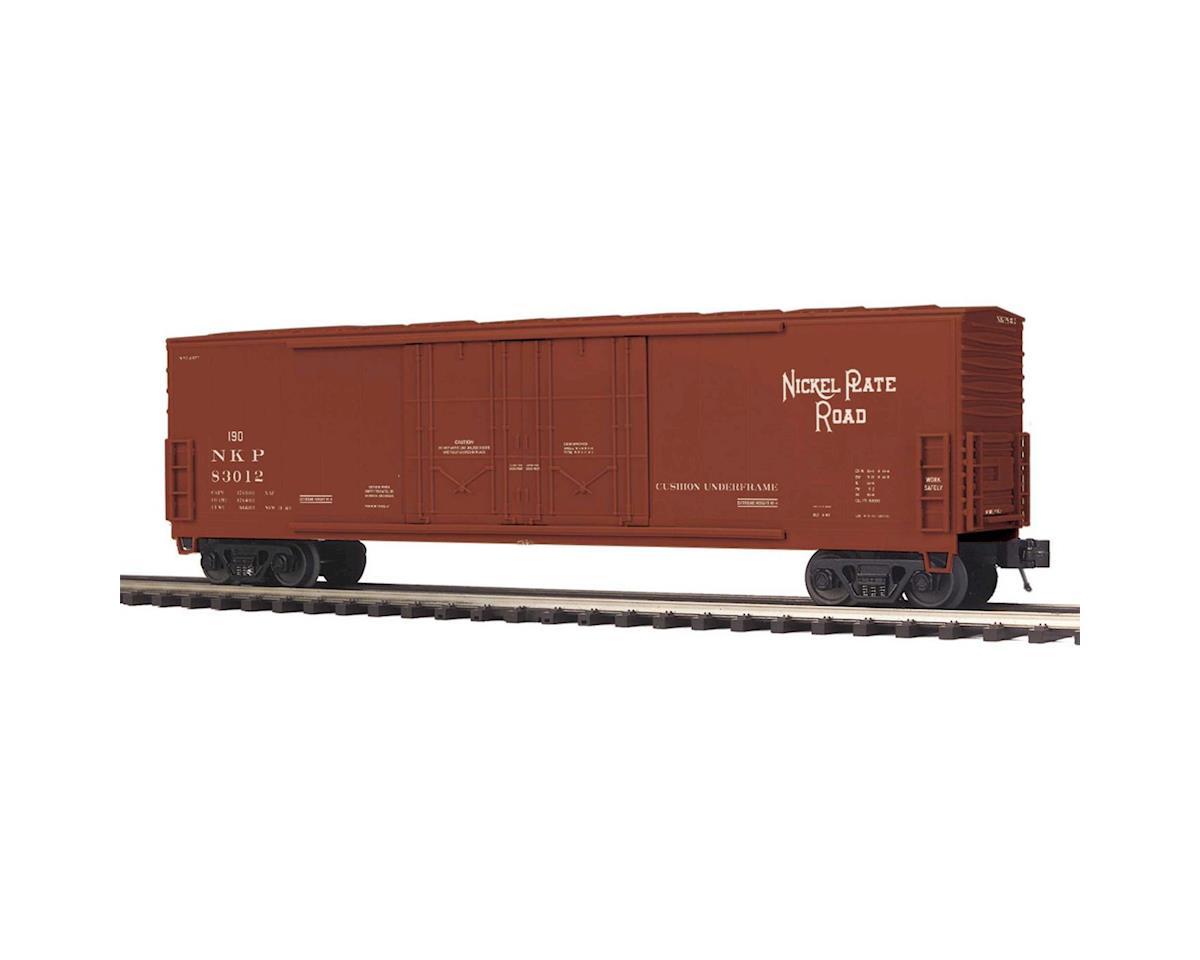 MTH Trains O 50' Double Door Plug Box, NKP #83012