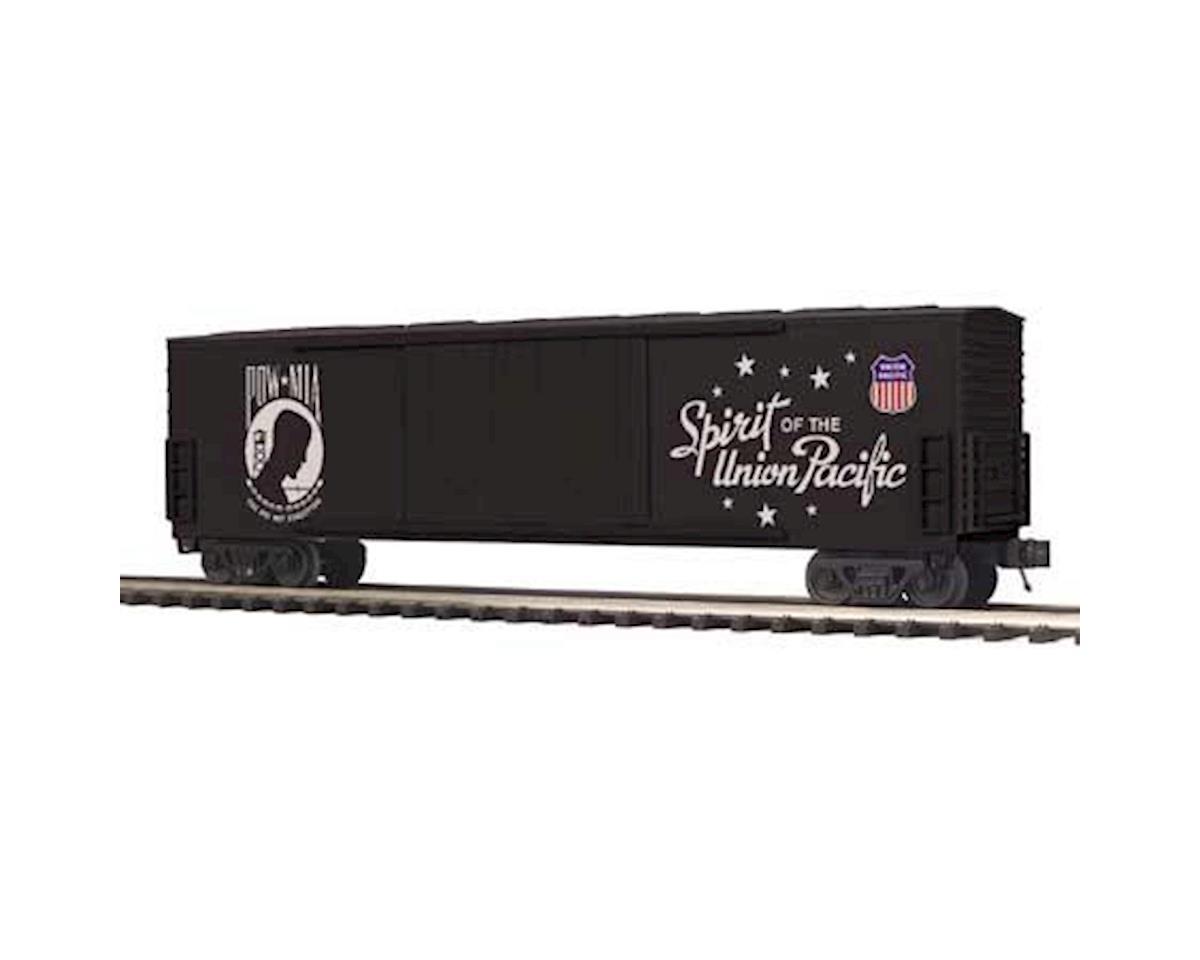 MTH Trains O 50' Double Door Plug Box, POW/MIA/Spirit of UP