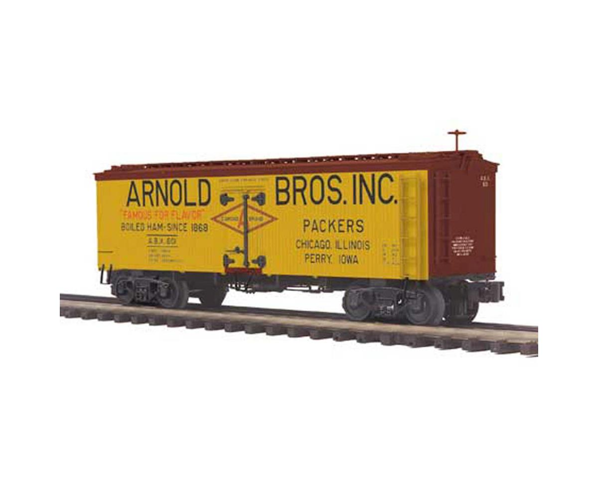 MTH Trains O 36' Wood Reefer, Arnold Brothers Inc