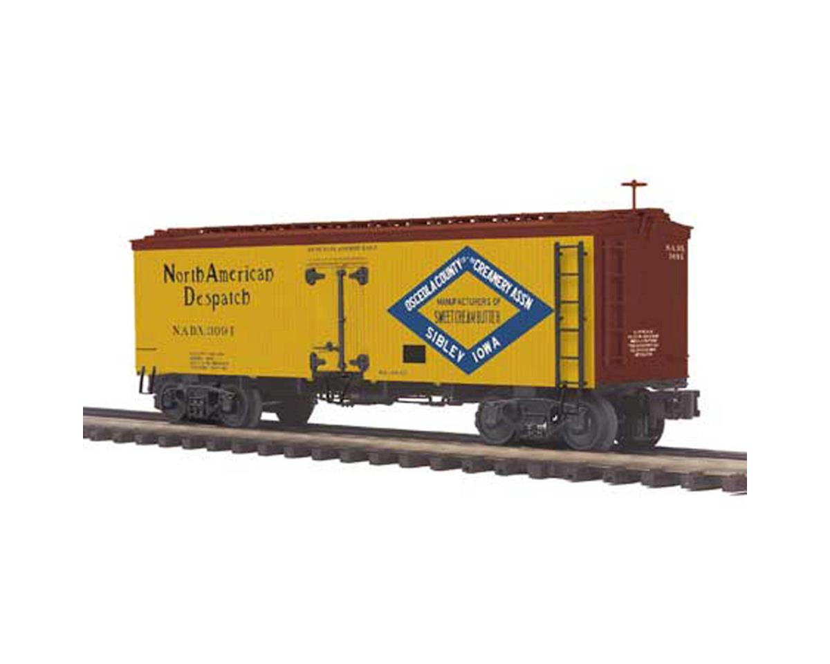 MTH Trains O 36' Wood Reefer, Osceola County Coop