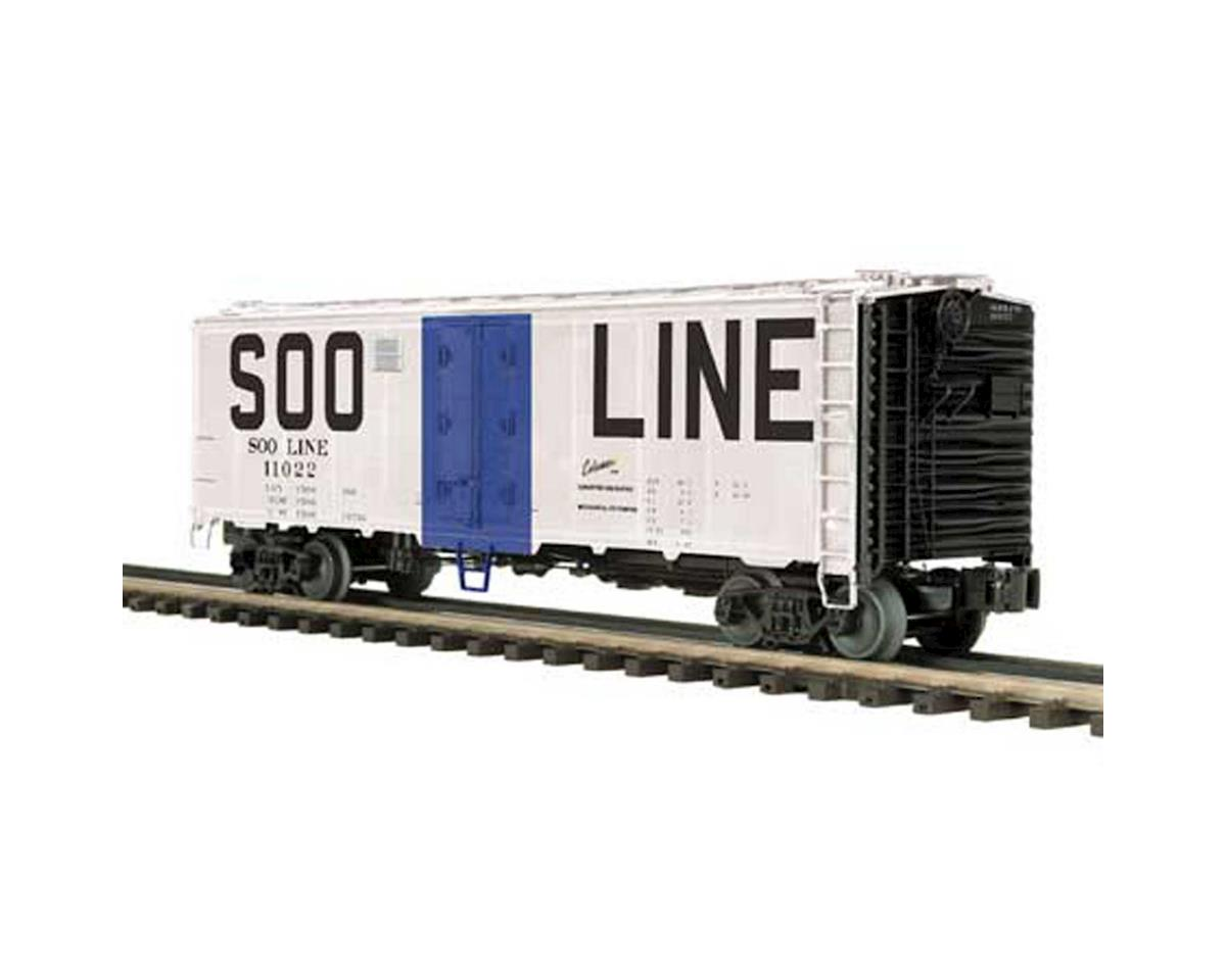 MTH Trains O 40' Steel Sided Reefer, SOO
