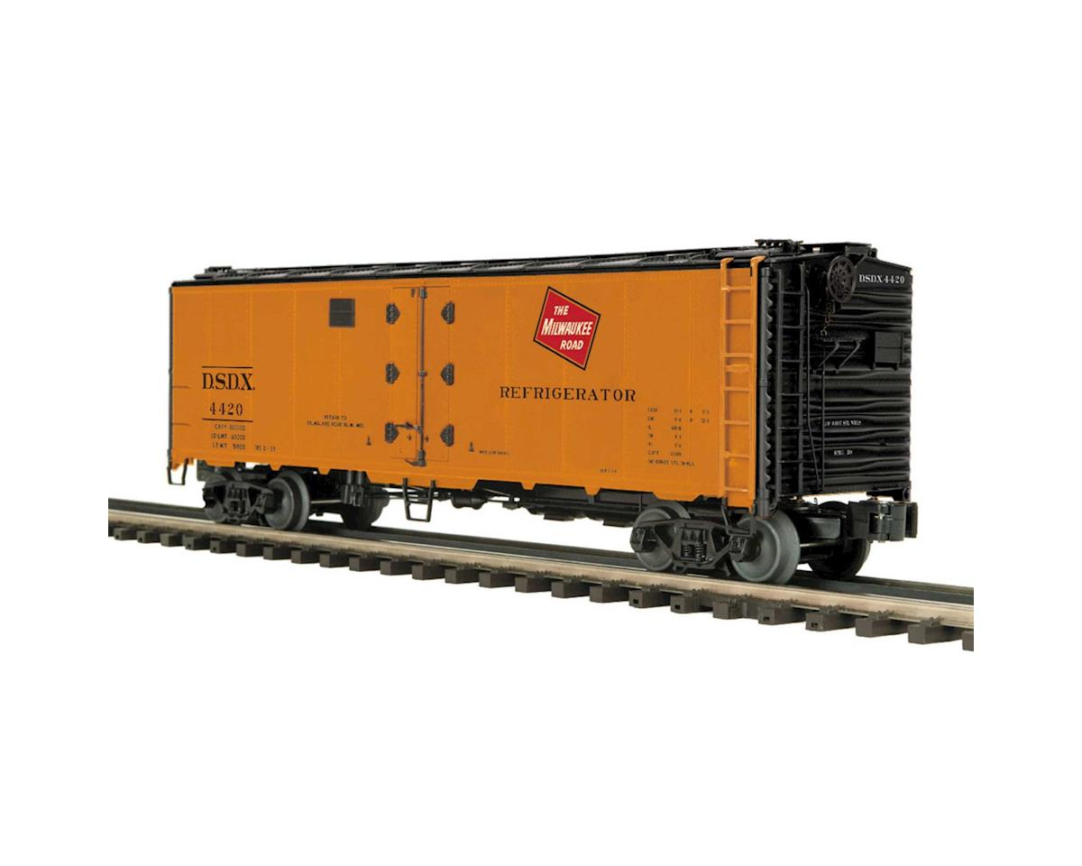 MTH Trains O 40' Steel Sided Reefer, MILW