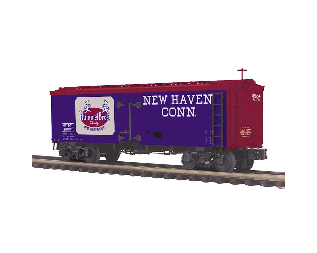 MTH Trains O 36' Wood Reefer, Hummel Brothers #65151
