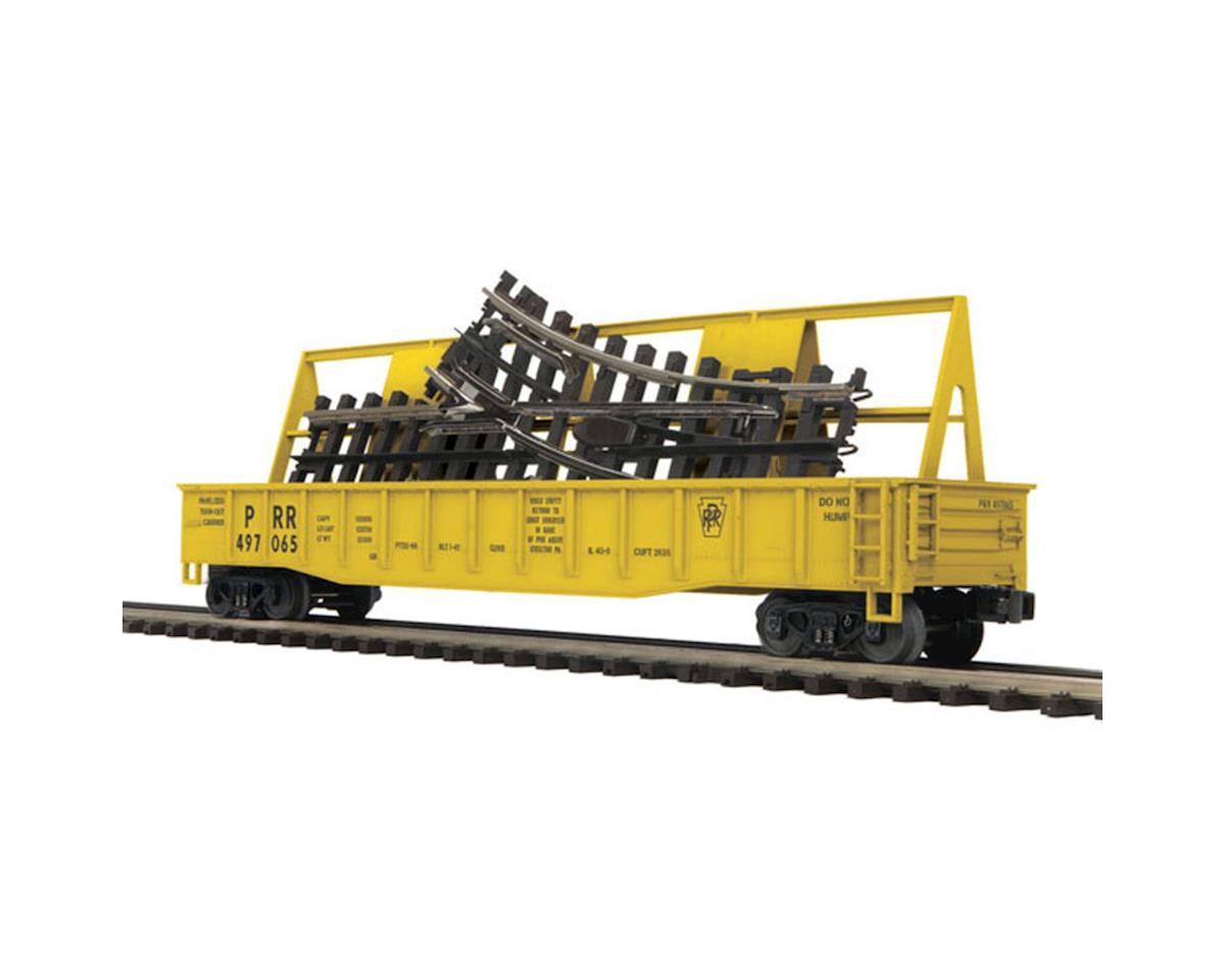 MTH Trains O Gondola w/ScaleTrax O-31 Switch, PRR
