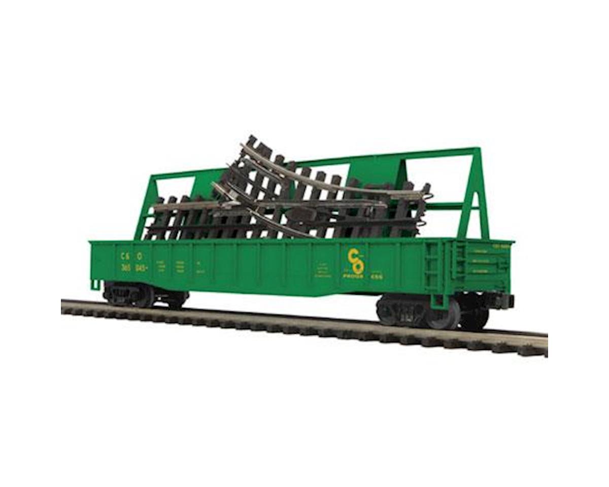 MTH Trains O Gondola w/ScaleTrax O-31 Switch, C&O