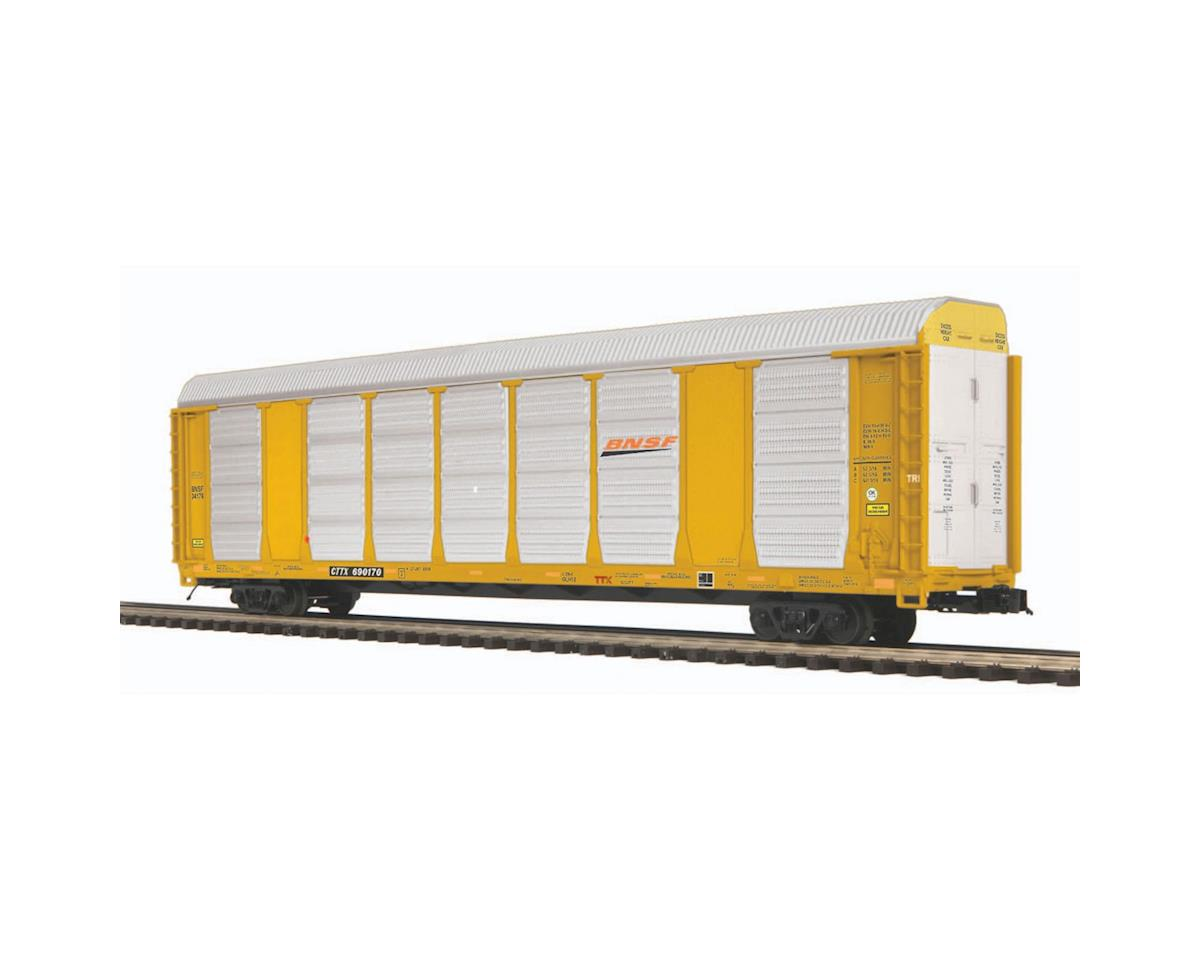 MTH Trains O Corrugated Auto Carrier, BNSF