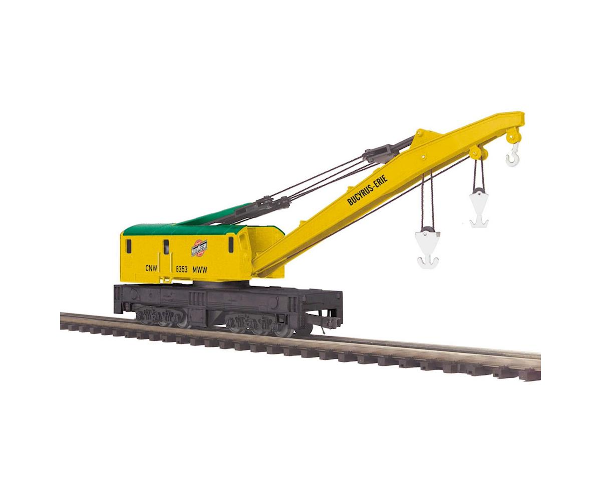 MTH Trains O Crane Car, C&NW