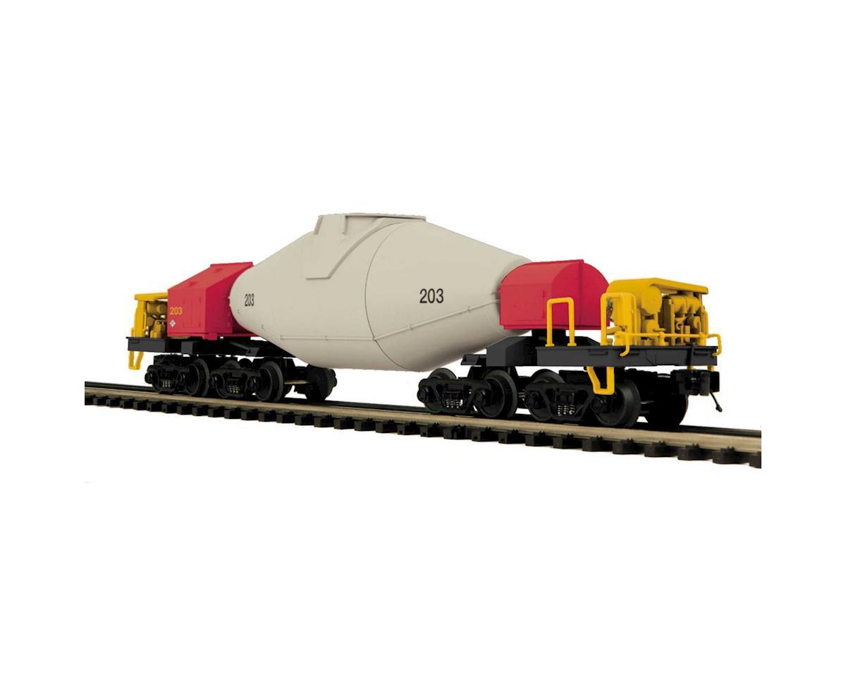 MTH Trains O Operating Hot Metal Car w/Flickering Load, MTSX
