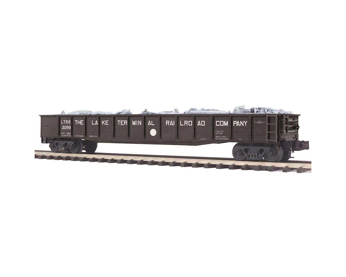 MTH Trains O Gondola w/Junk Load, Lake Terminal Railroad