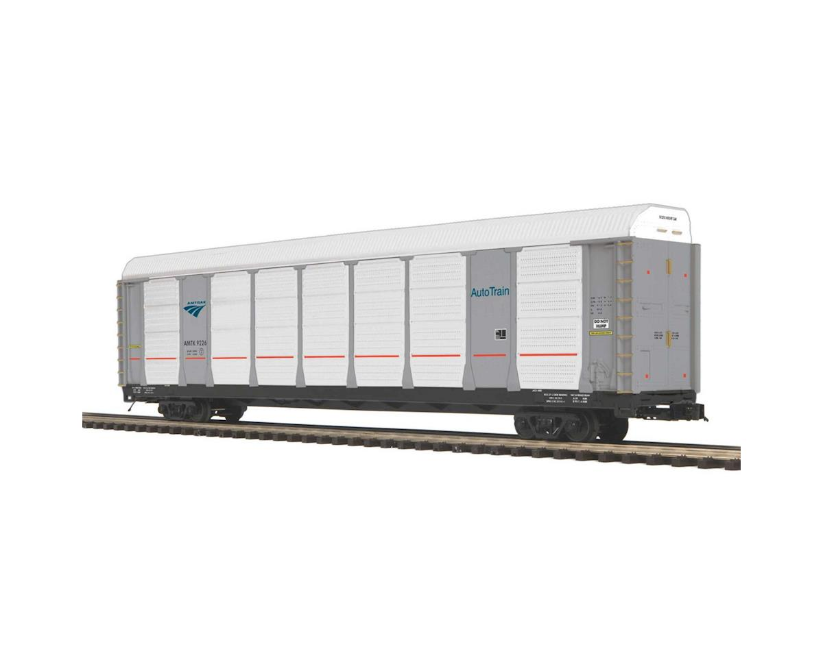 O Corrugated Auto Carrier, Amtrak by MTH Trains