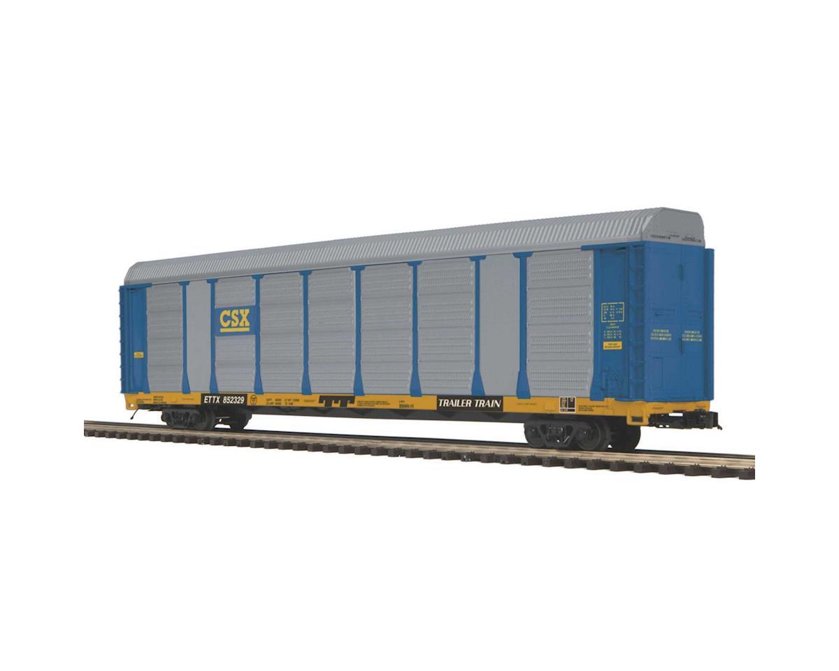 MTH Trains O Corrugated Auto Carrier, CSX