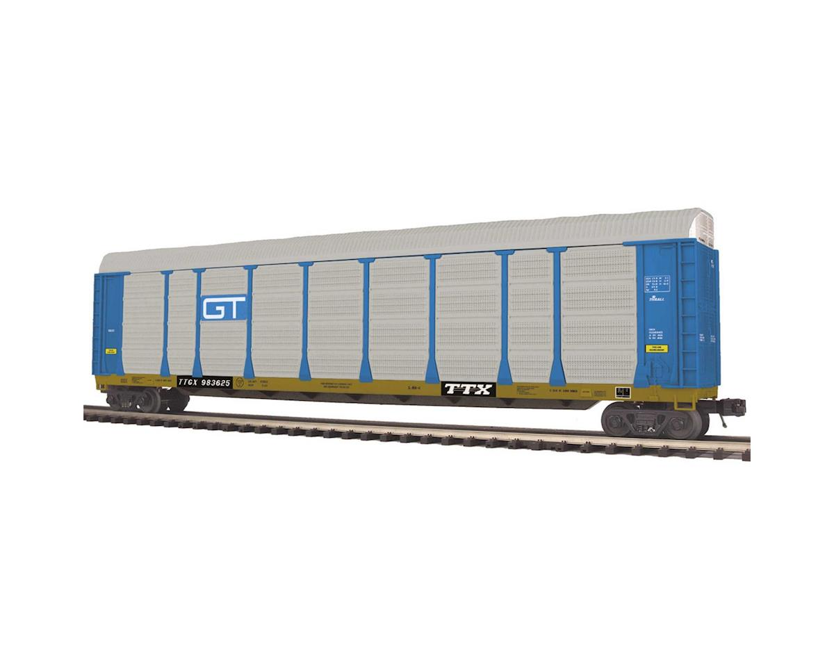 MTH Trains O Corrugated Auto Carrier, GTW
