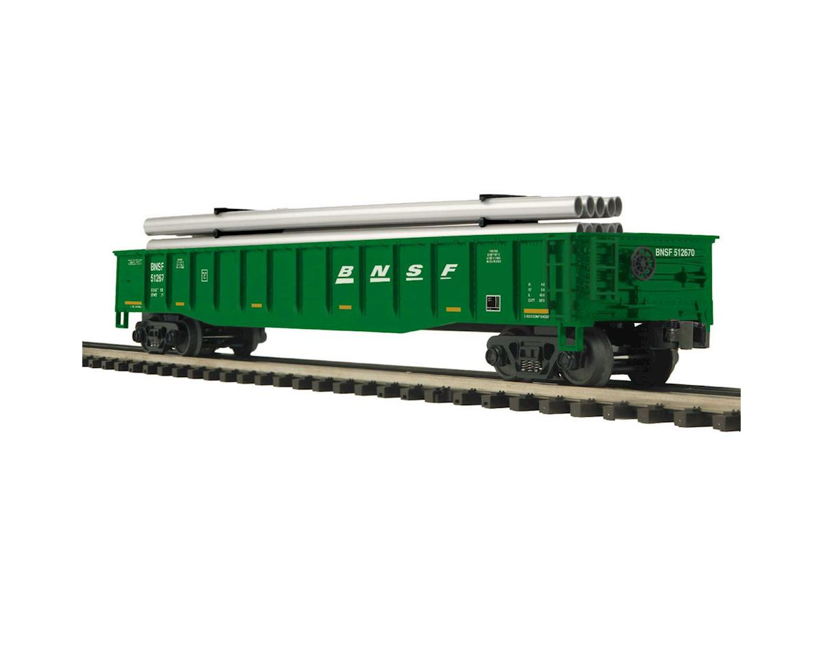 MTH Trains O Gondola w/Pipe Load, BNSF