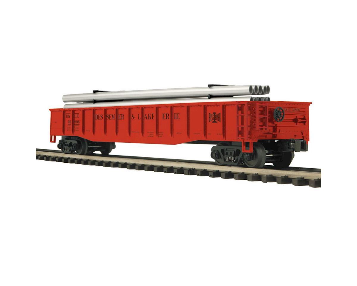 O Gondola w/Pipe Load, B&LE by MTH Trains
