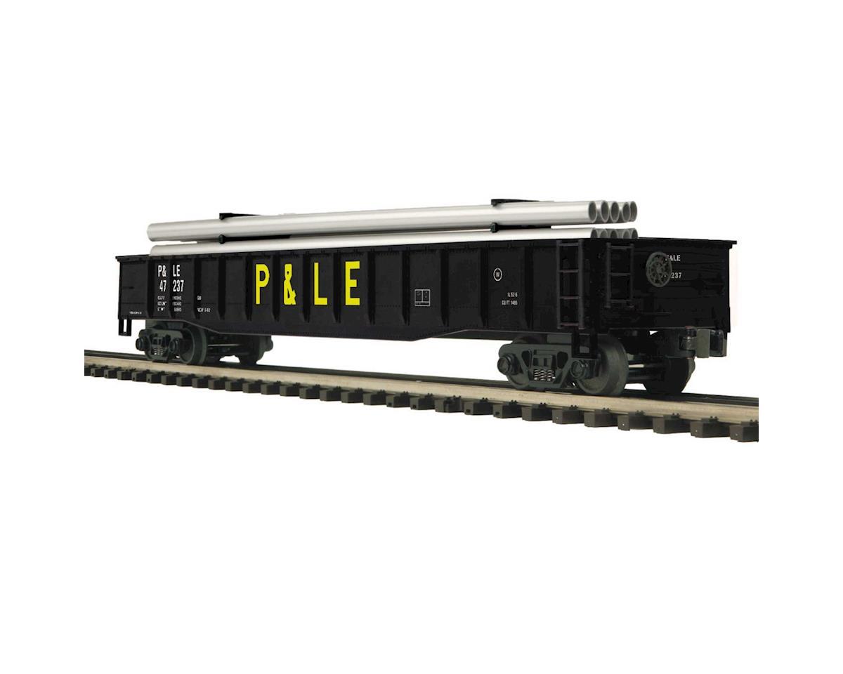 MTH Trains O Gondola w/Pipe Load, P&LE