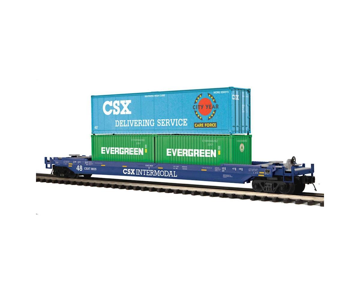 MTH Trains O Husky Stack, CSX #8035