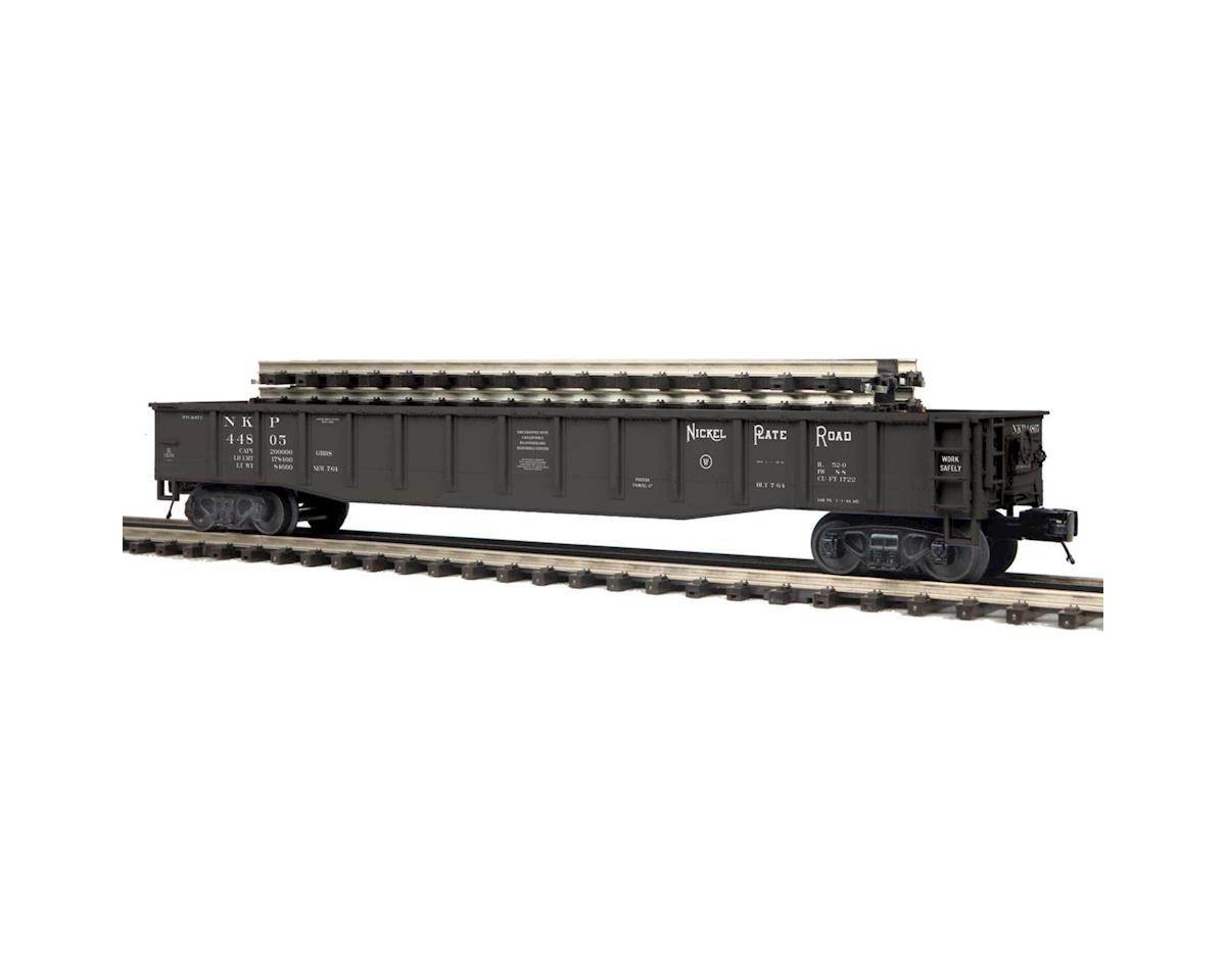MTH Trains O Gondola w/ScaleTrax Straights, NKP #44805