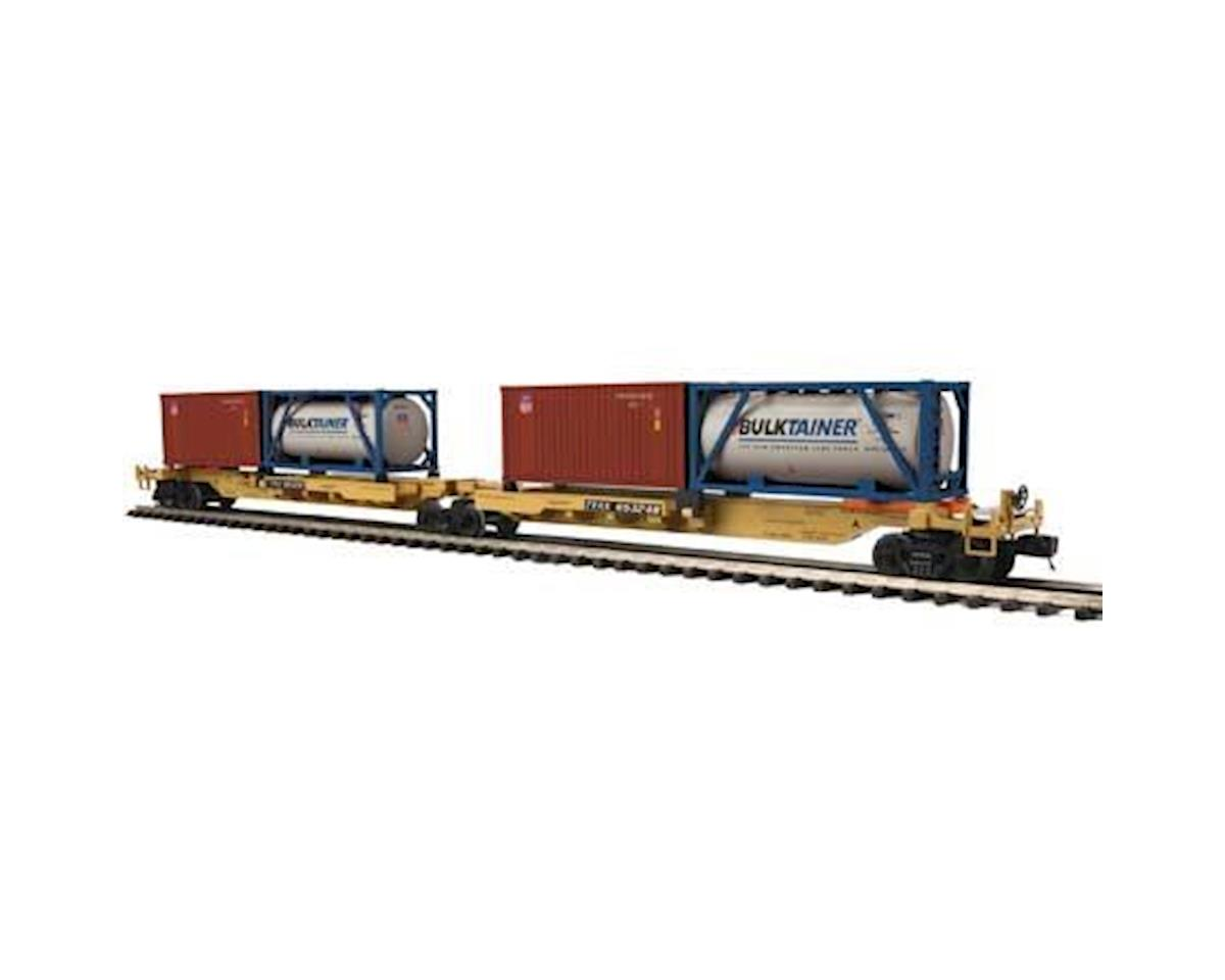 MTH Trains O Spine Car w/2 Containers, TTX #65248 (2)