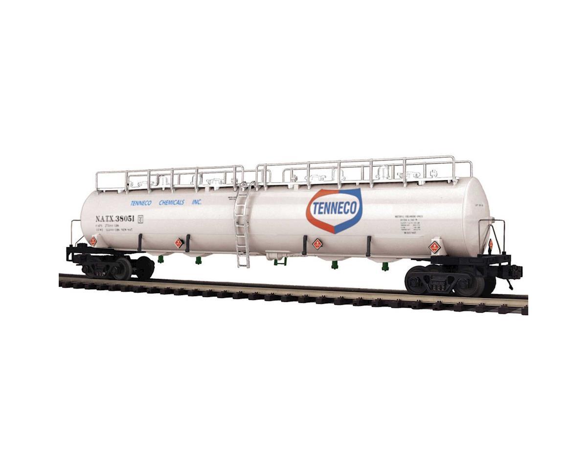 MTH Trains O 20,000 Gallon 4-Compartment Tank, Tenneco