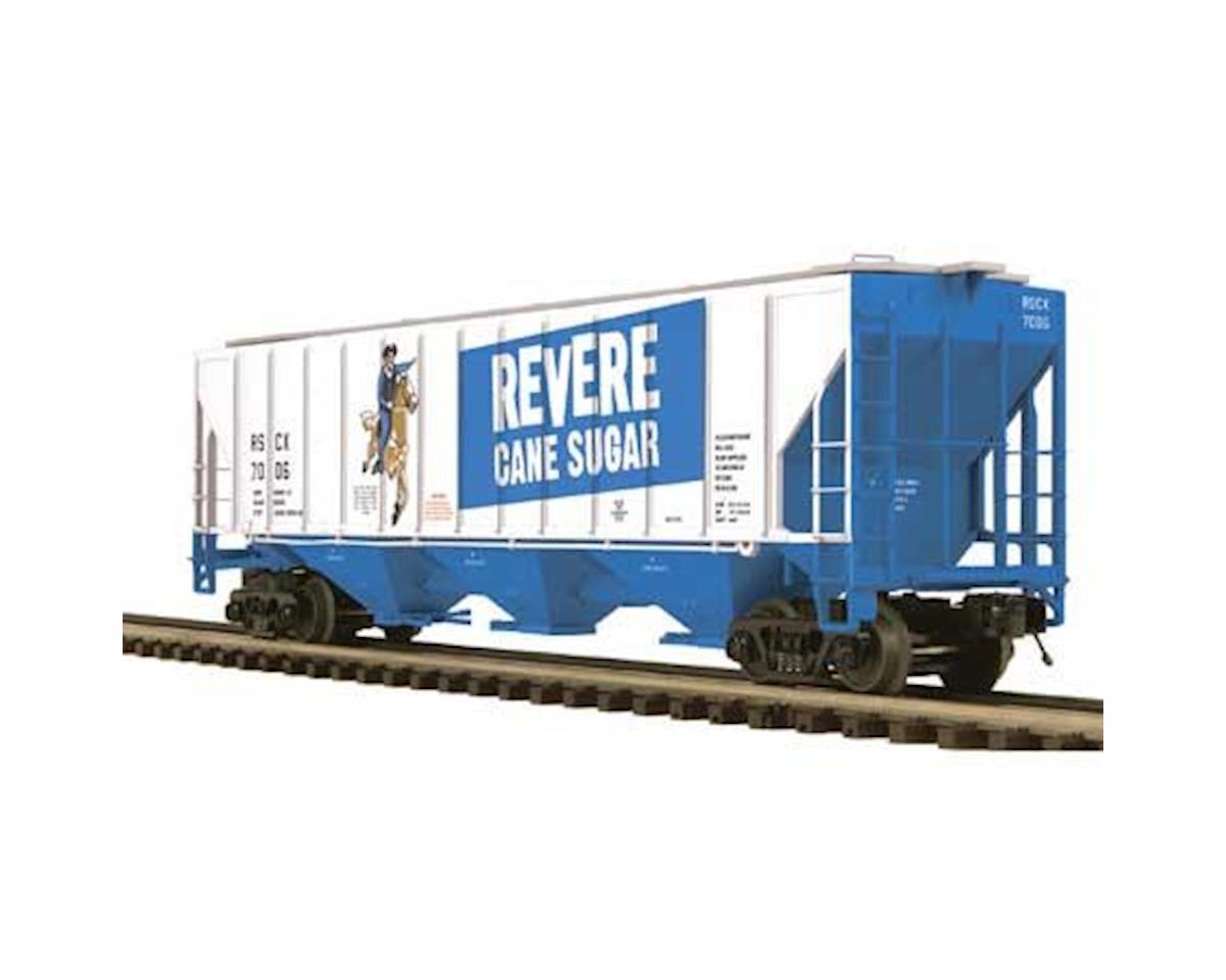 MTH Trains O PS-2CD High Side Hopper, Revere Sugar #7006