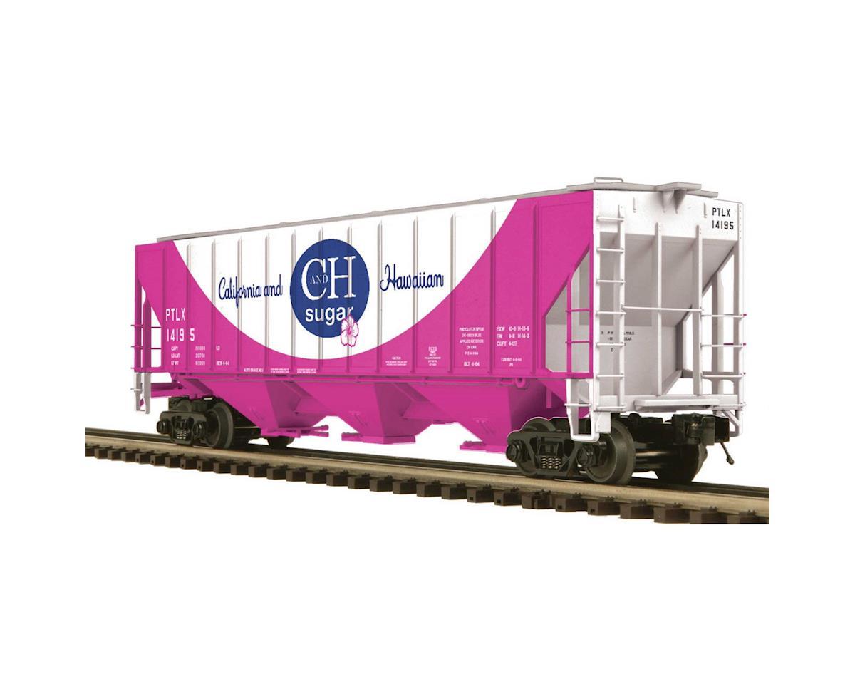 O PS-2CD High Side Hopper, C&H Sugar #14195 by MTH Trains