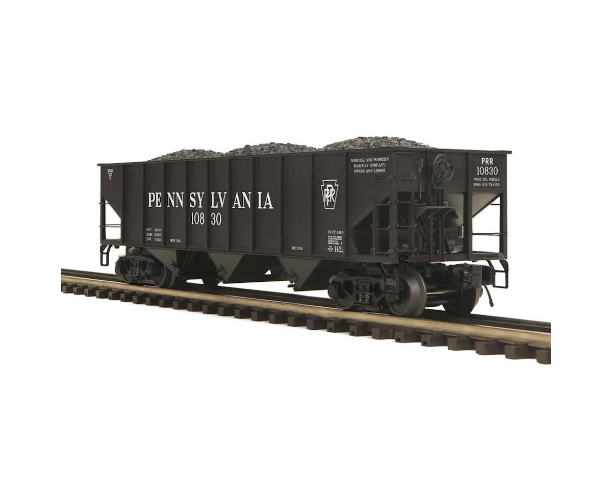 MTH Trains O 70 Ton 3-Bay Hopper, PRR