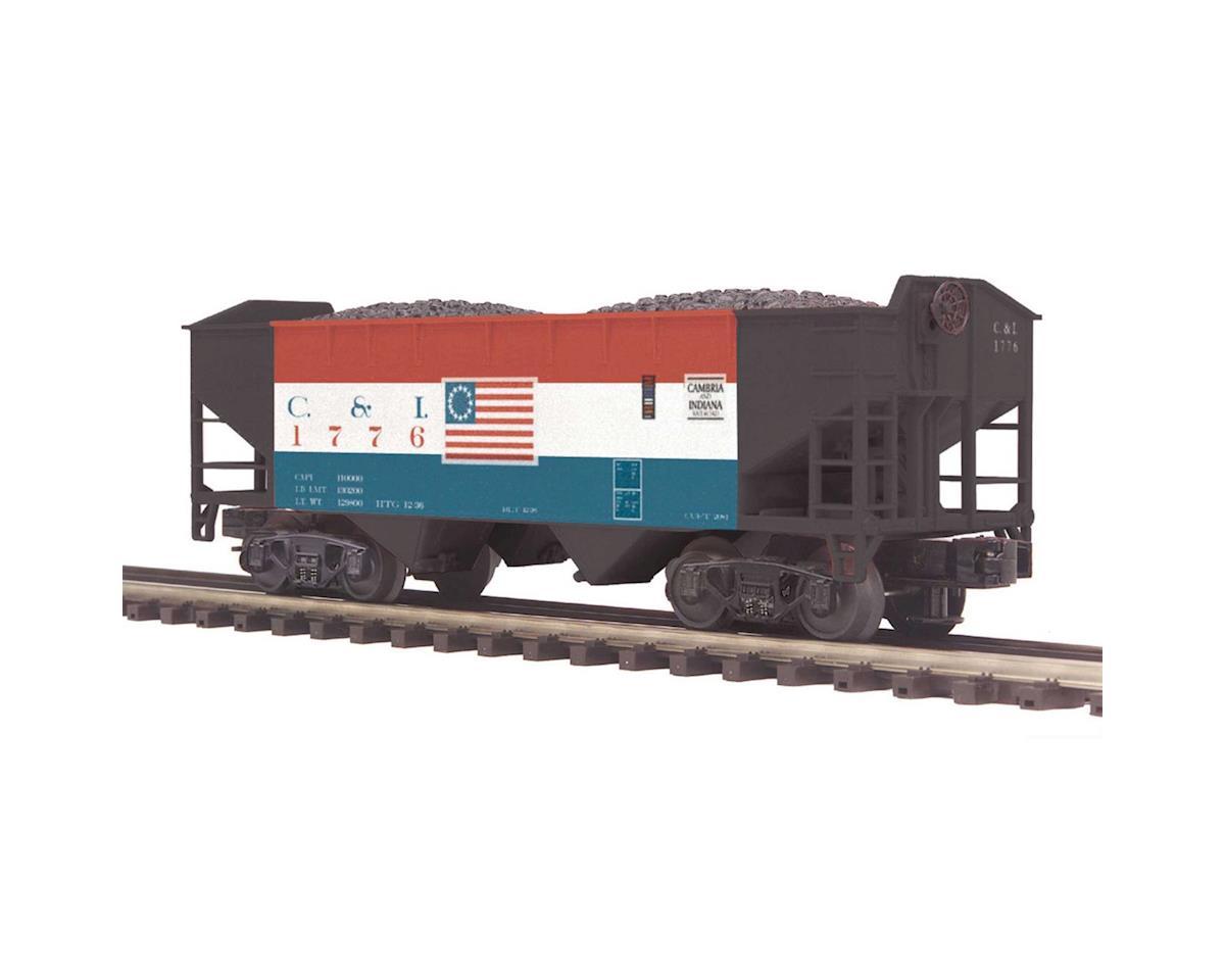MTH Trains O 2-Bay Offset Hopper, C&I