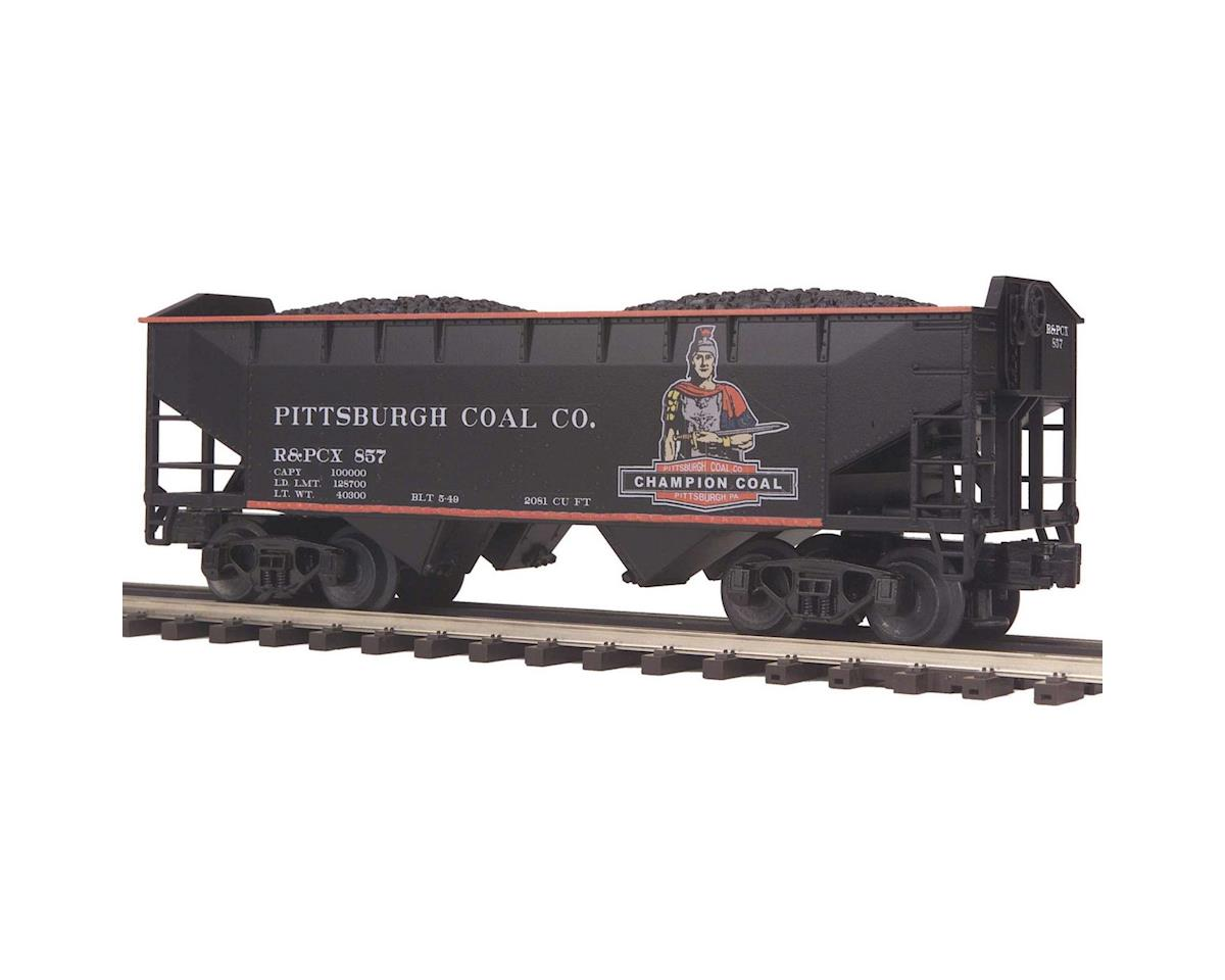 MTH Trains O 2-Bay Offset Hopper, Pittsburgh/Champion