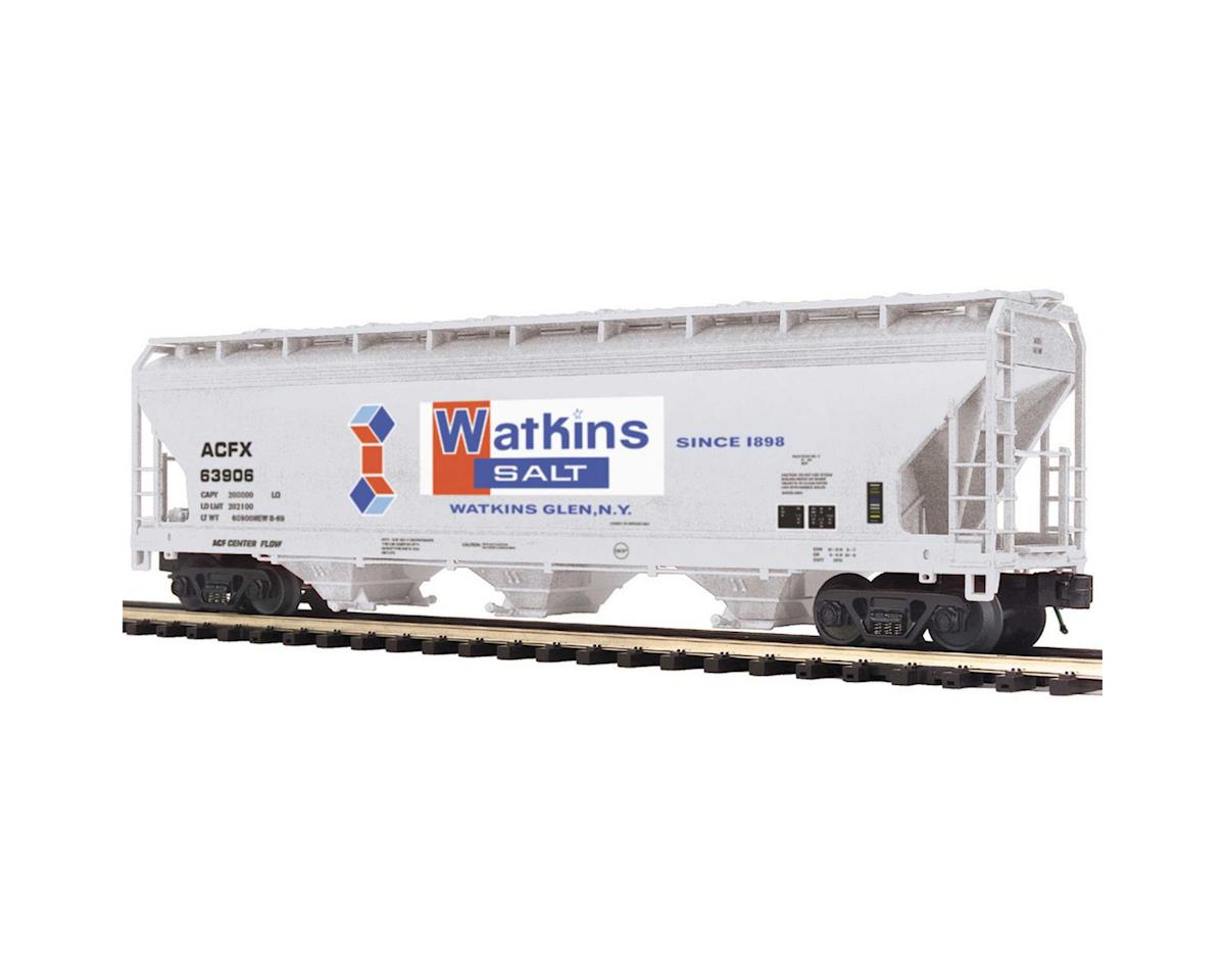 MTH Trains O 3-Bay Centerflow Hopper, Watkins Salt