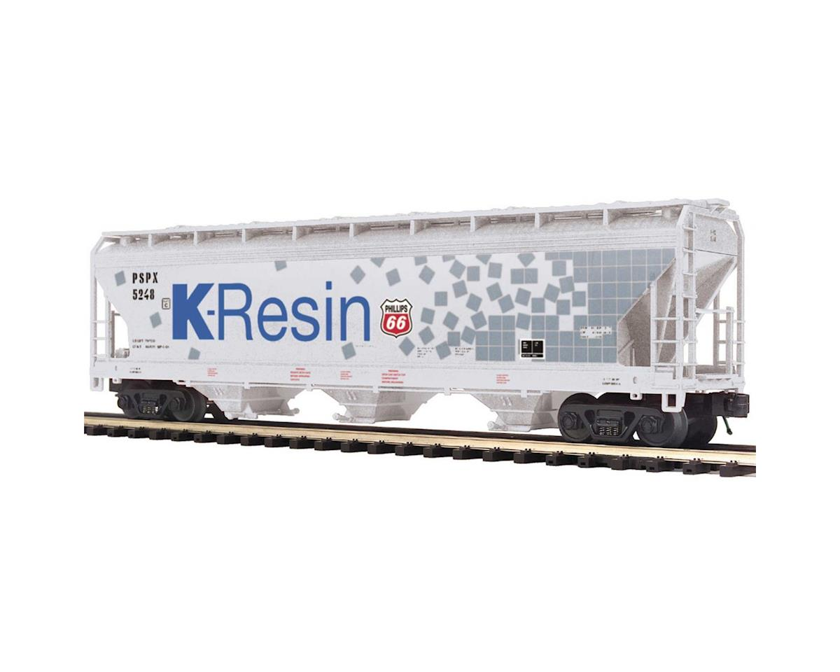 MTH Trains O 3-Bay Centerflow Hopper, K-Resin