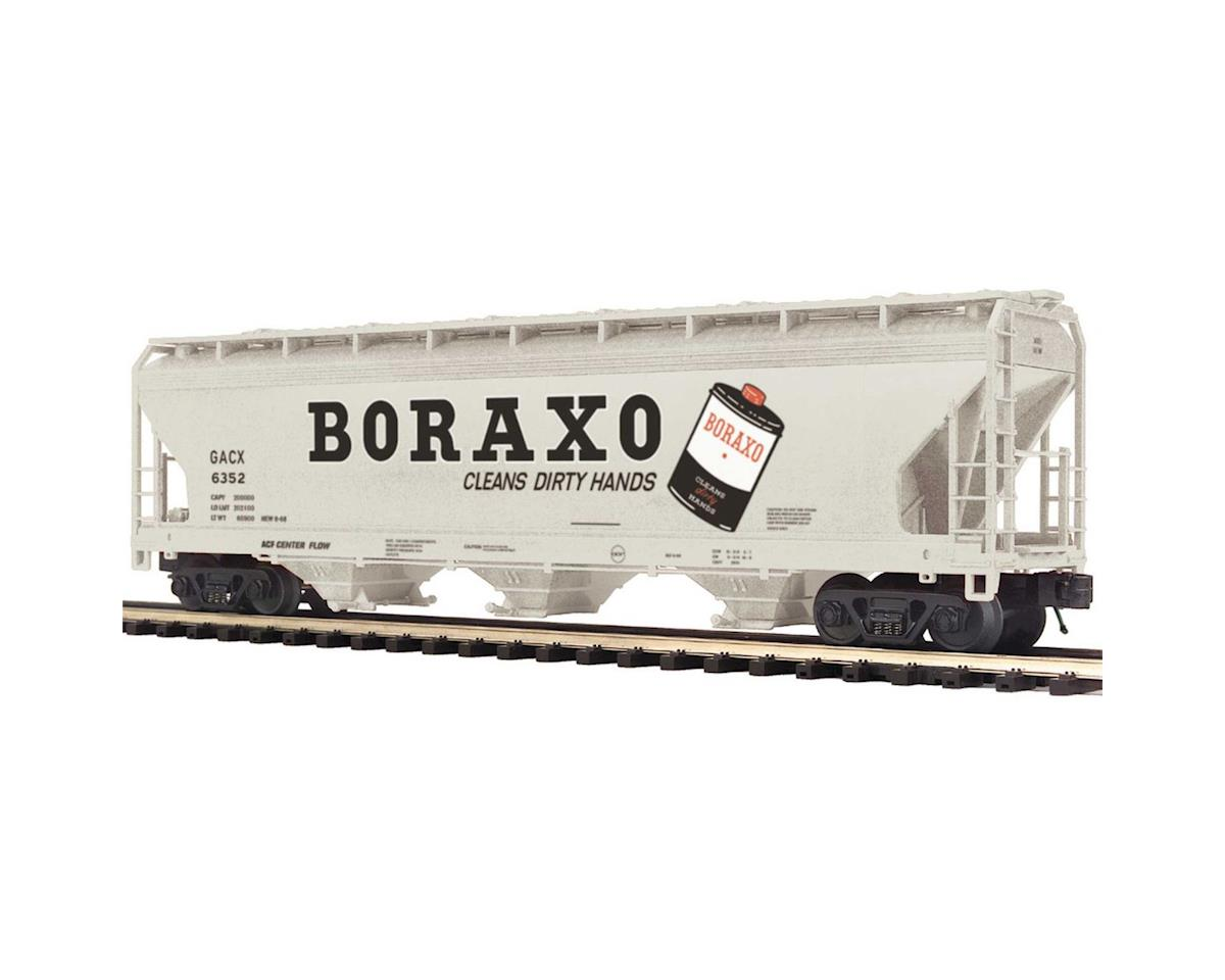 MTH Trains O 3-Bay Centerflow Hopper, Borax #6352
