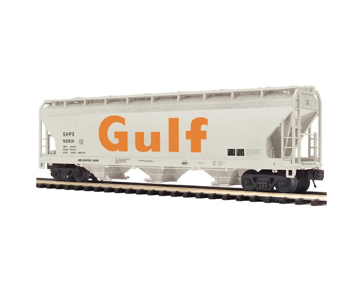 MTH Trains O 3-Bay Centerflow Hopper, Gulf #52931