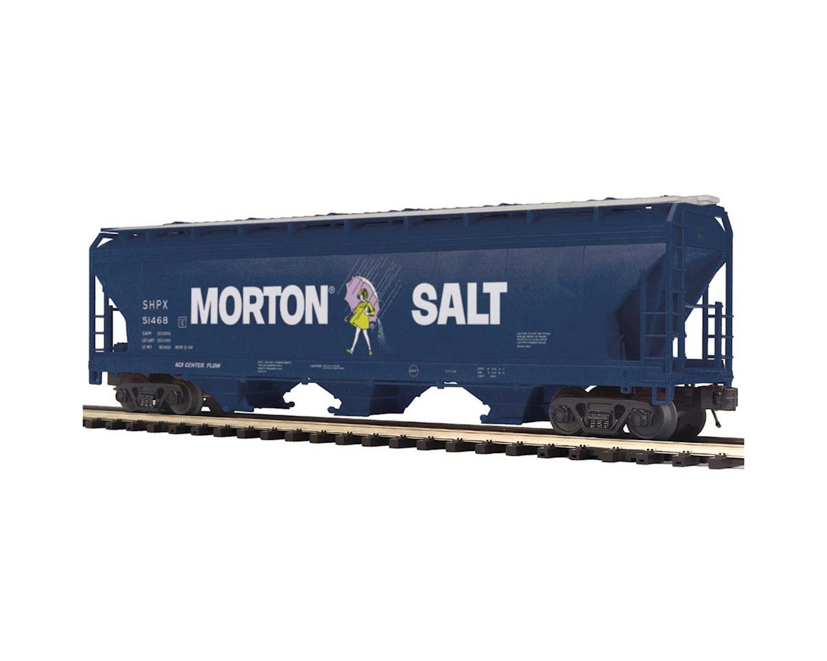 MTH Trains O 3-Bay Centerflow Hopper, Morton Salt