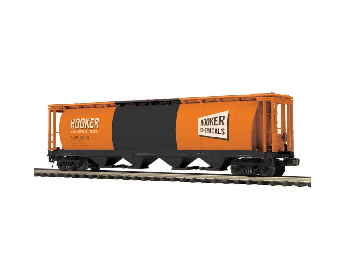MTH Trains O 100 Ton Hopper, Hooker #32032