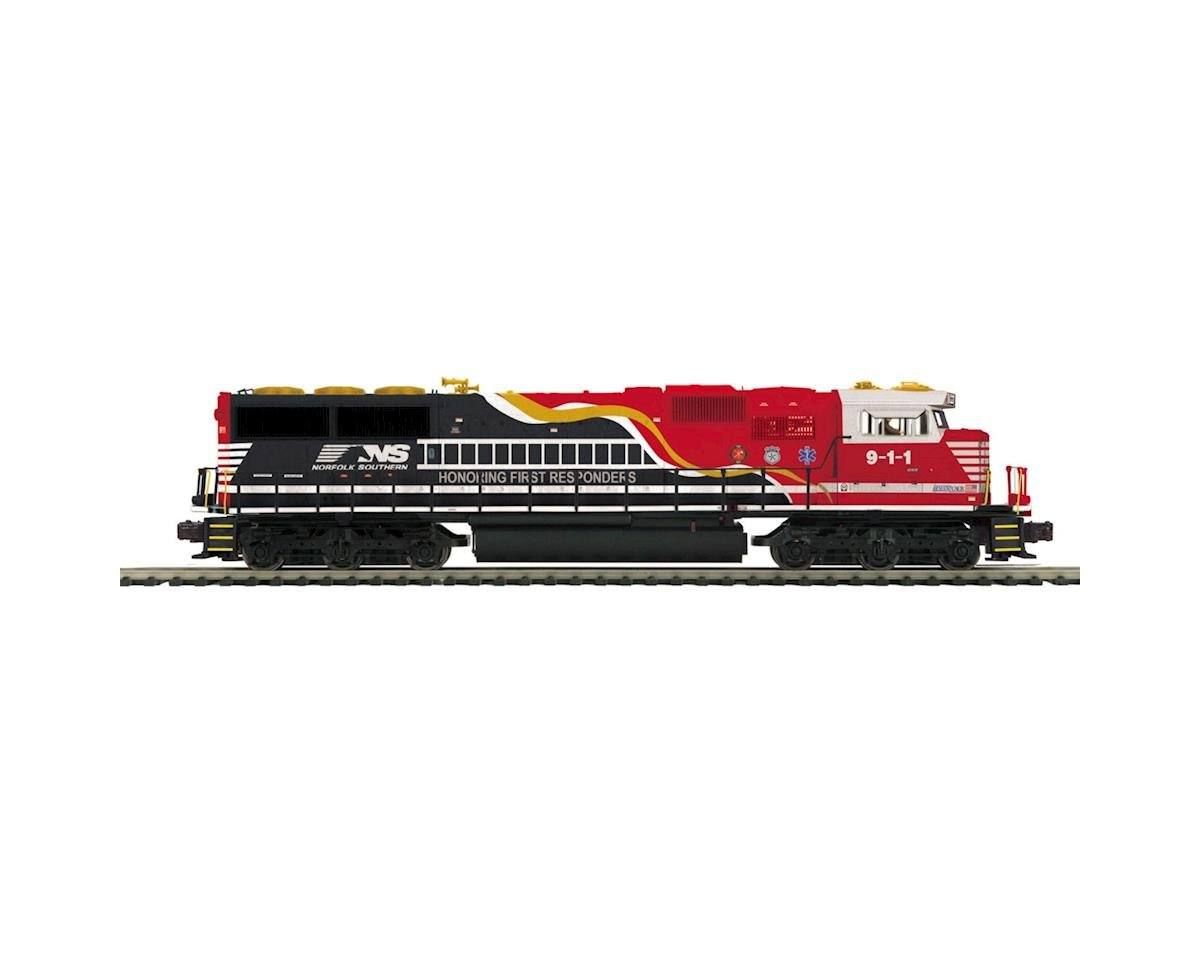 MTH Trains O Scale SD60E w/PS3, NS/First Responder