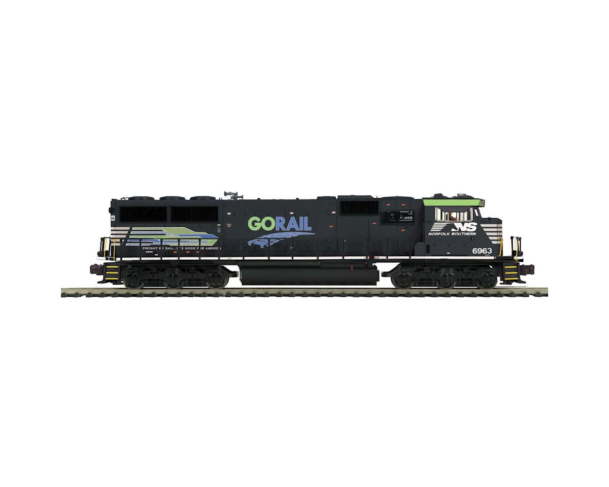 MTH Trains O Scale SD60E w/PS3, NS/Go Rail