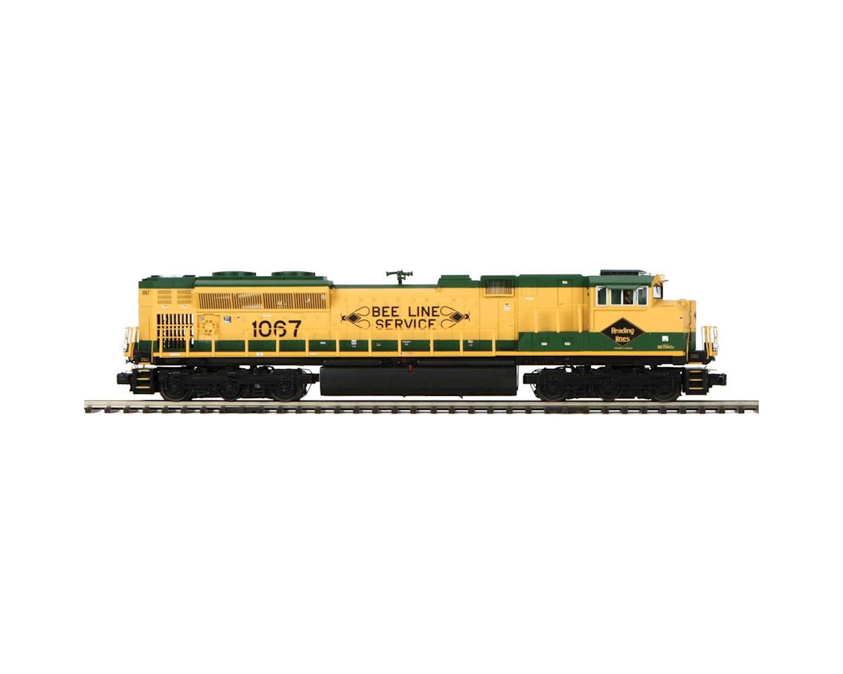 MTH Trains O Scale SD70ACe w/PS3, RDG #1067