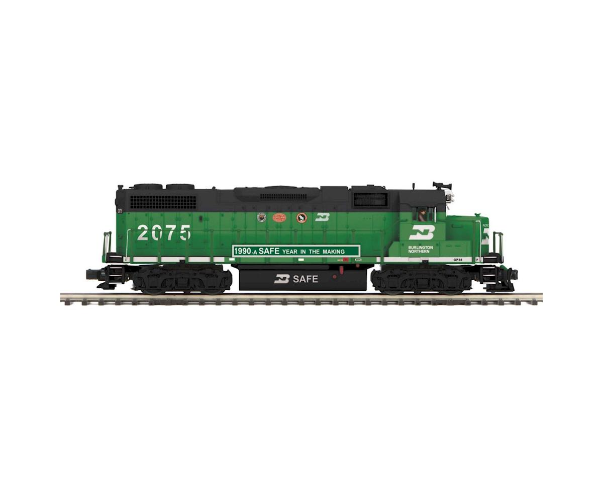 MTH Trains O Scale GP38-2 w/PS3, BN #2324