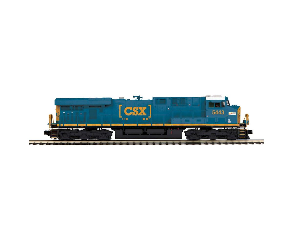 MTH Trains O Scale ES44DC w/PS3, CSX #5443
