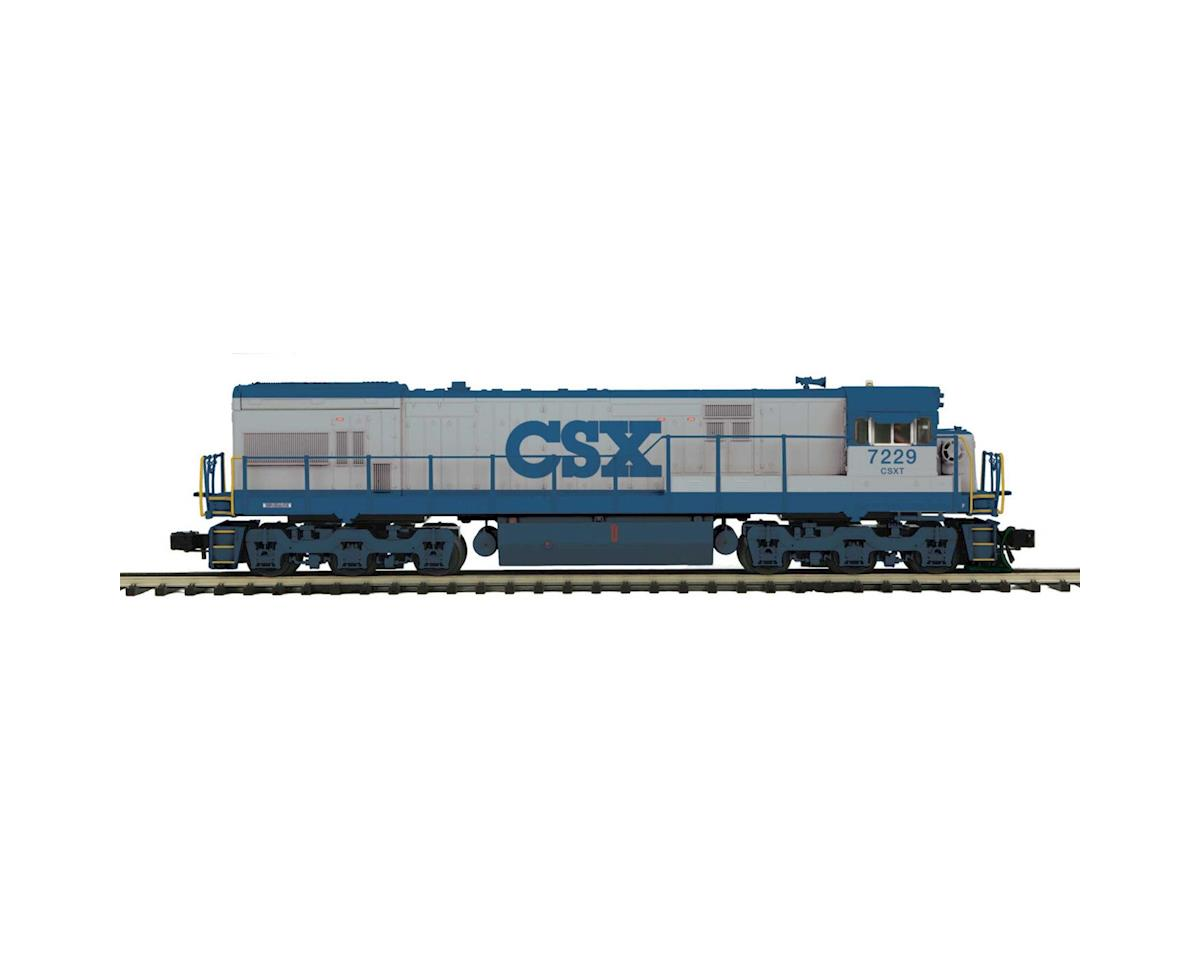 MTH Trains O Scale ES44DC w/PS3, CSX #7229