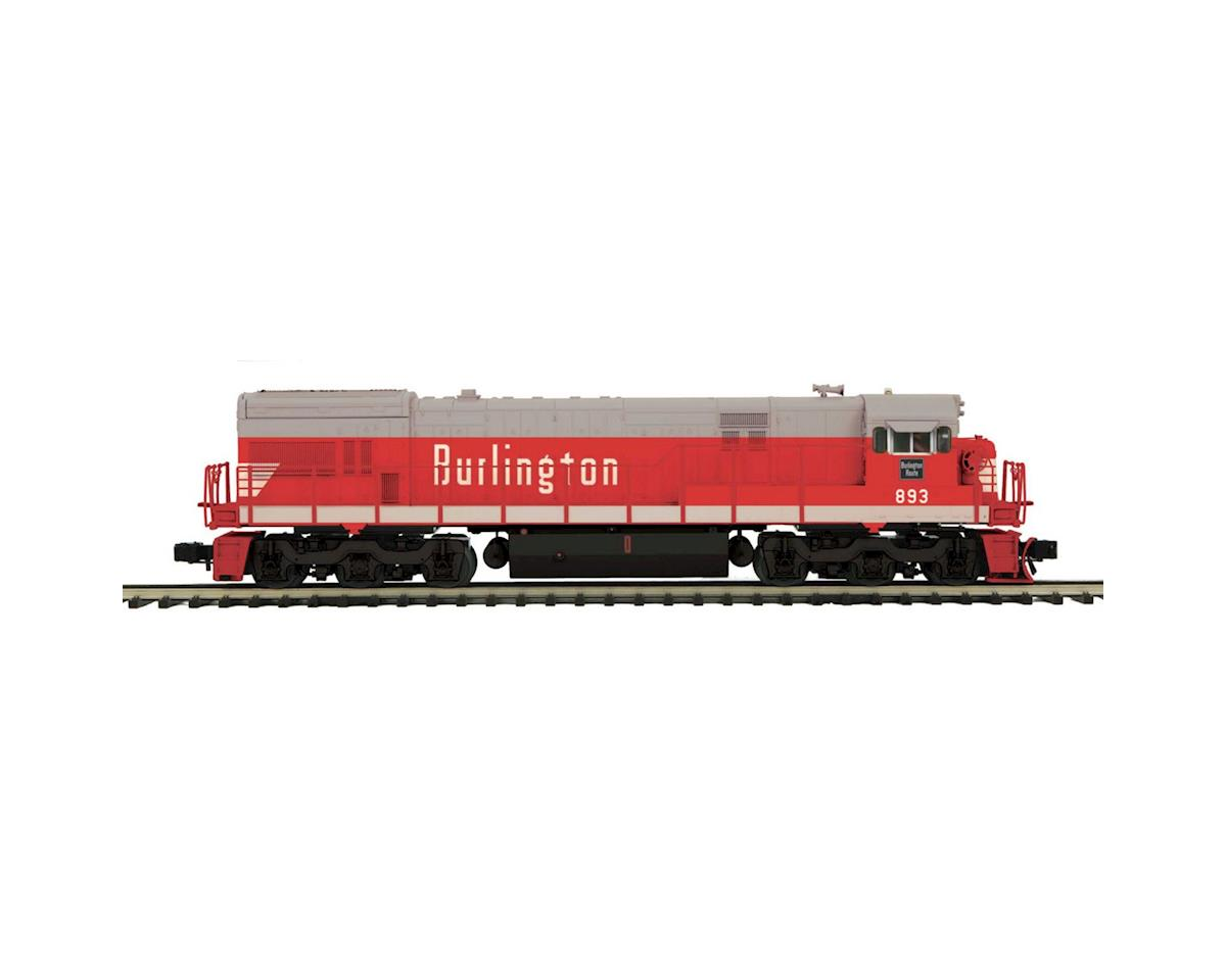 MTH Trains O Scale U30C w/PS3, CB&Q #893