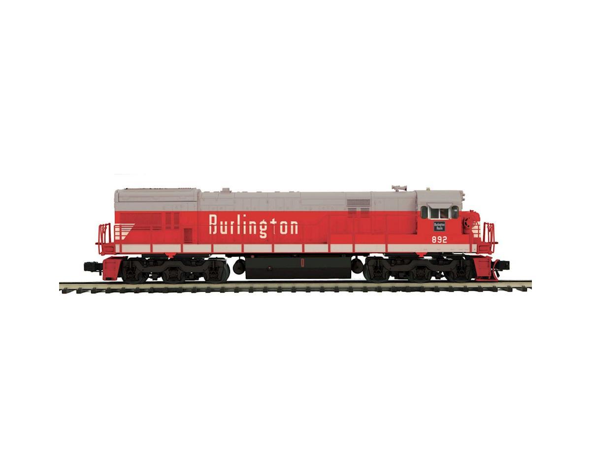MTH Trains O Scale U30C w/PS3, CB&Q #892