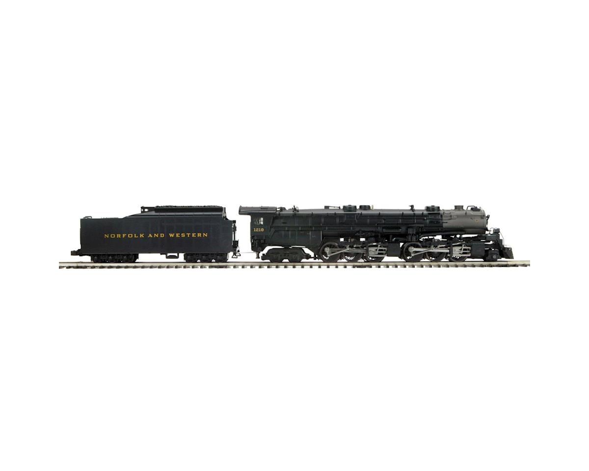 MTH Trains O Scale 2-6-6-4 Class A w/PS3, N&W #3