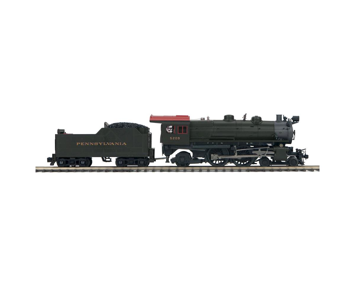 MTH Trains O Scale 4-4-2 Atlantic w/PS3, PRR #5209